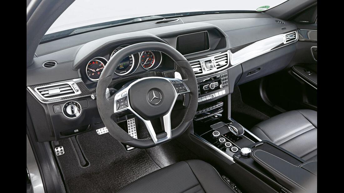 Mercedes E 63 T AMG S 4Matic, Cockpit