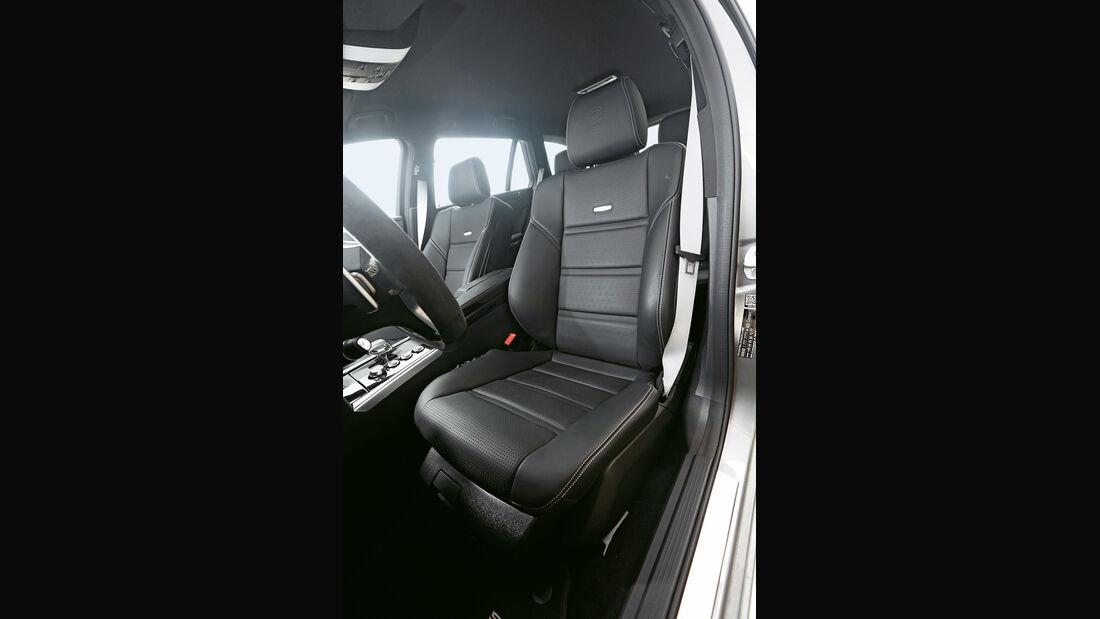 Mercedes E 63 T AMG S 4Matic, Fahrersitz