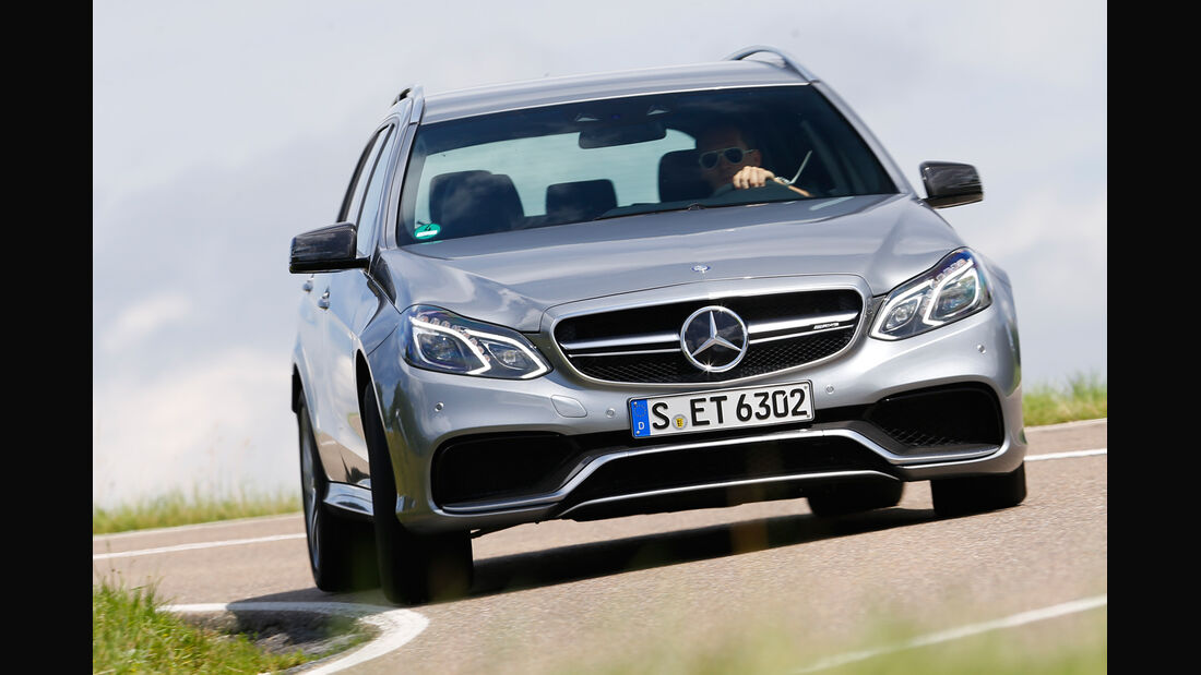 Mercedes E 63 T AMG S 4Matic, Frontansicht