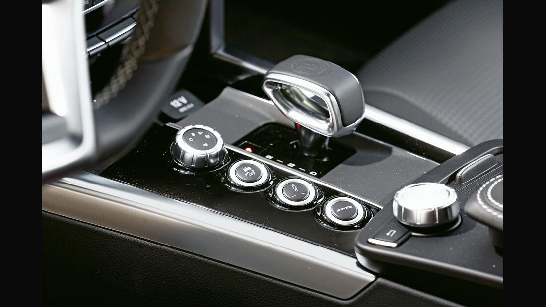 Mercedes E 63 T AMG S 4Matic, Schalthebel