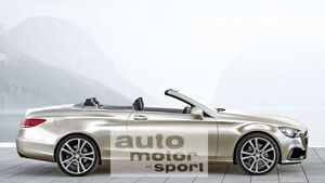 Mercedes E-Cabrio, Seitenansicht