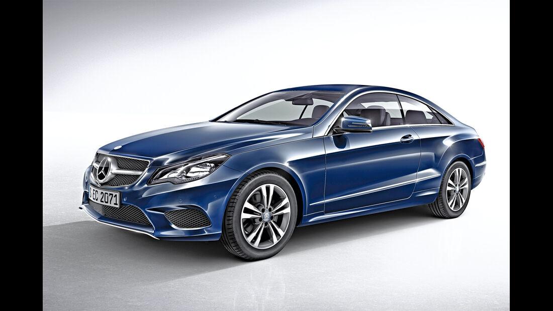 Mercedes E-Coupé, Seitenansicht