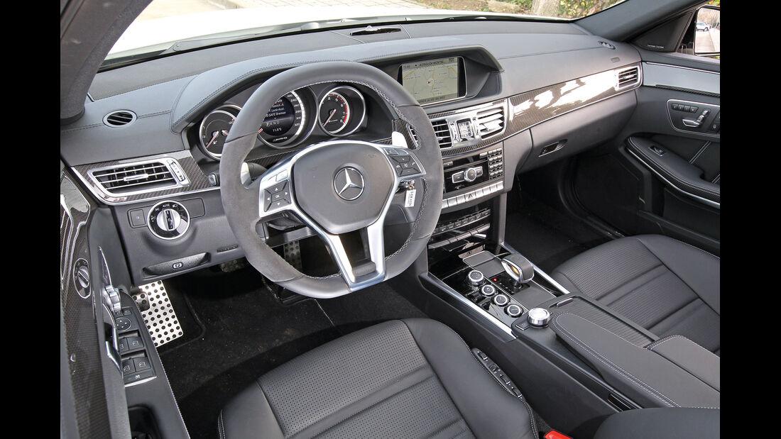 Mercedes E-Klasse, AMG, Cockpit