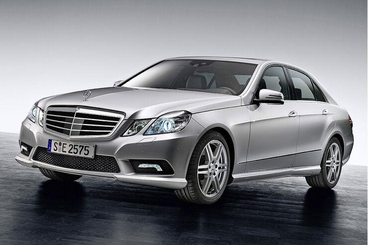 Mercedes, E-Klasse, AMG-Paket, 0109