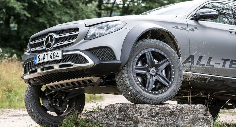 Mercedes E-Klasse All-Terrain 4x4² Mitfahrt Offroad 2017