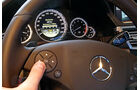 Mercedes E-Klasse, Bordcomputer-Menu, Bedienfeld