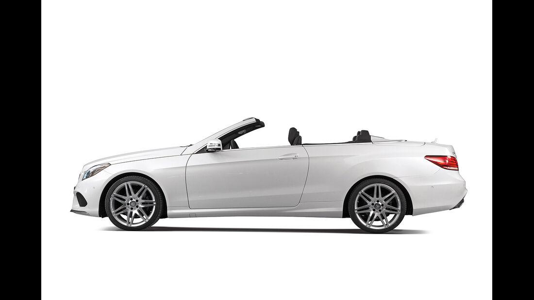Mercedes E-Klasse Cabrio, Seitenansicht