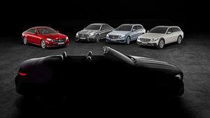Mercedes E-Klasse Cabrio Teaser