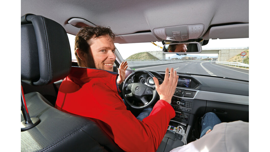 Mercedes E-Klasse, Cockpit, Autonomes Fahren