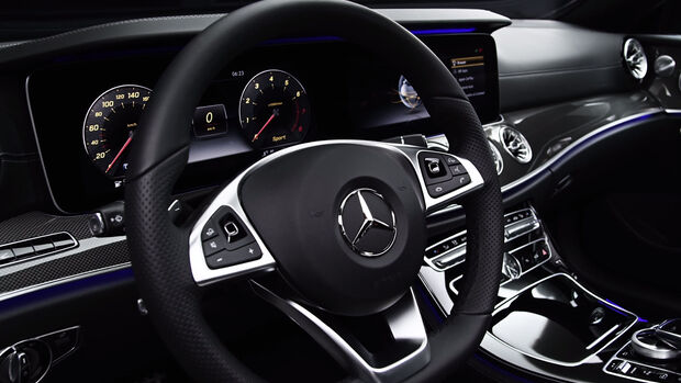 Mercedes E-Klasse Coupé Teaser Screenshot