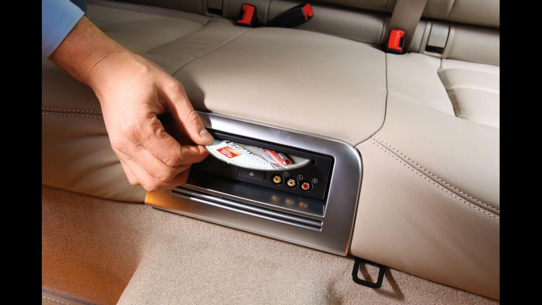 Mercedes E-Klasse, DVD-Player