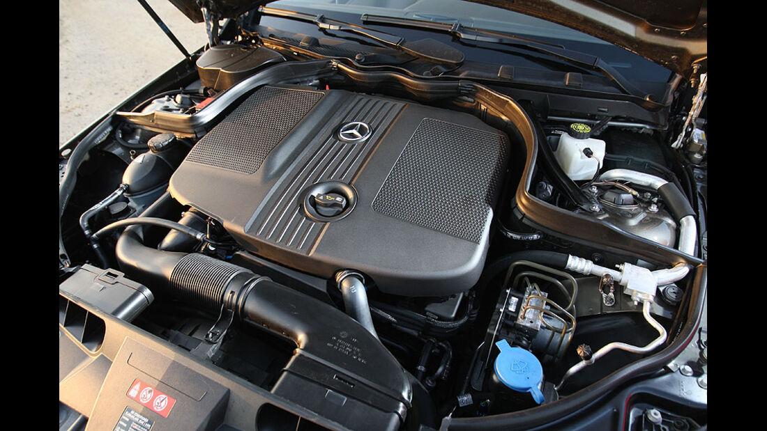 Mercedes E-Klasse E 220 CDI Cabrio Motor