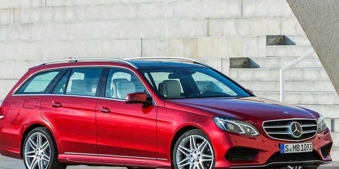 Mercedes E-Klasse Facelift 2013