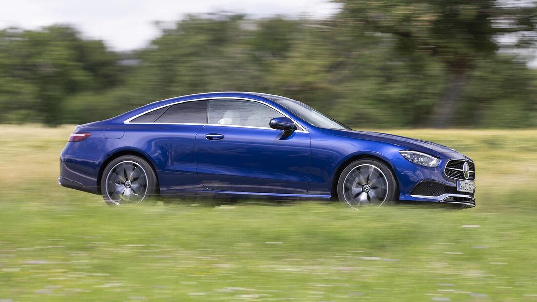 Mercedes E-Klasse Facelift, Coupé