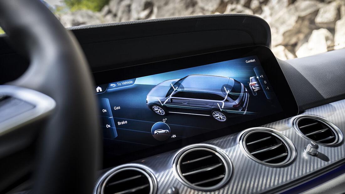Mercedes E-Klasse Facelift, Interieur