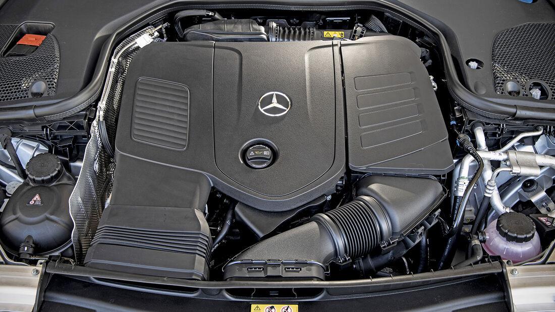 Mercedes E-Klasse Facelift, Motor