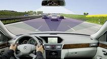 Mercedes, E-Klasse, Fahrerassistenzsystem