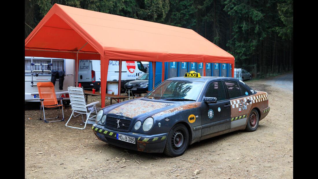 Mercedes E-Klasse - Fan-Autos - 24h-Rennen Nürburgring 2018 - Nordschleife