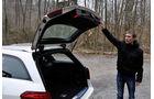 Mercedes E-Klasse, Heckklappe, Kofferraum