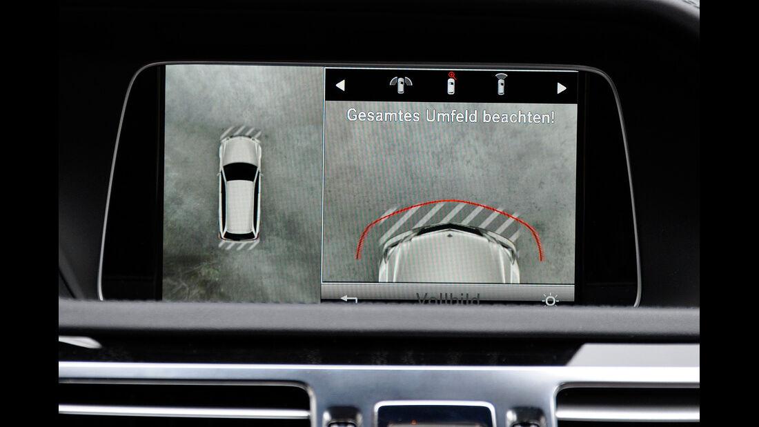 Mercedes E-Klasse, Infotainment, Display, 360-Grad-Kamera