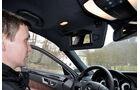 Mercedes E-Klasse, Innenraum, Sonnenblende, Schminkspiegel
