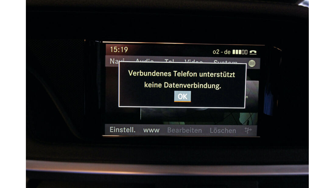 Mercedes E-Klasse, Internetzugang