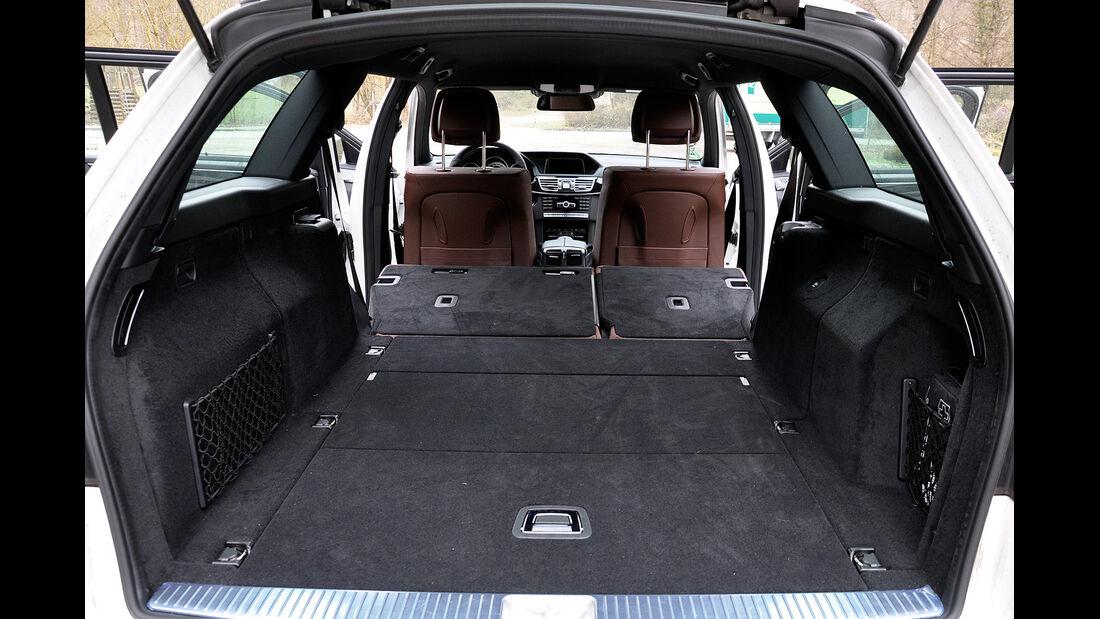 Mercedes E-Klasse, Kofferraum, Trennnetz