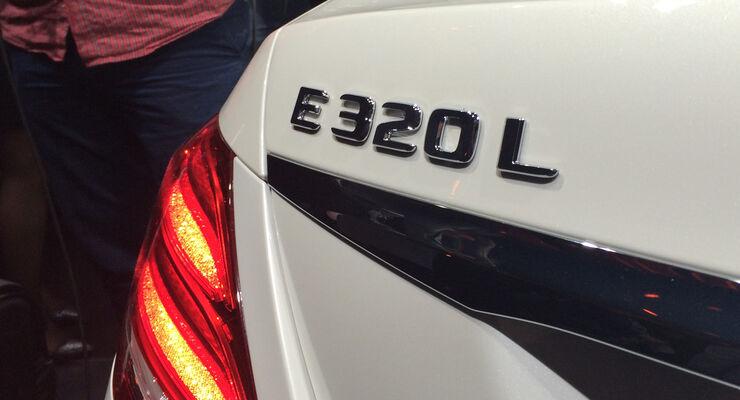 Mercedes E-Klasse Langversion Peking 2016