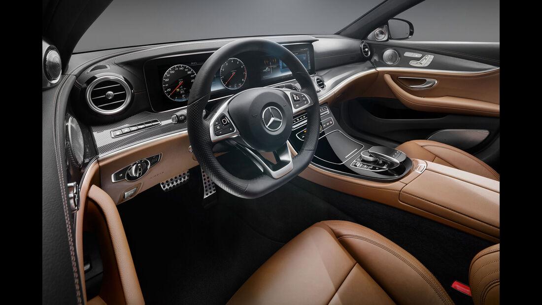 Mercedes E-Klasse - Lenkrad - Innenraum