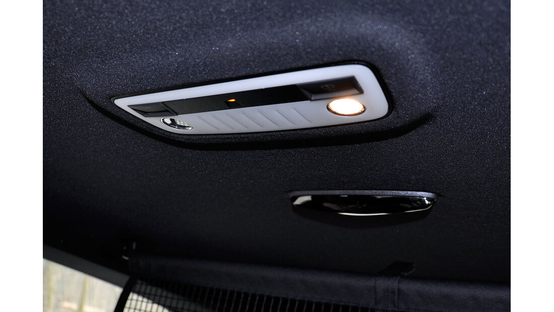 Mercedes E-Klasse, Leselampe