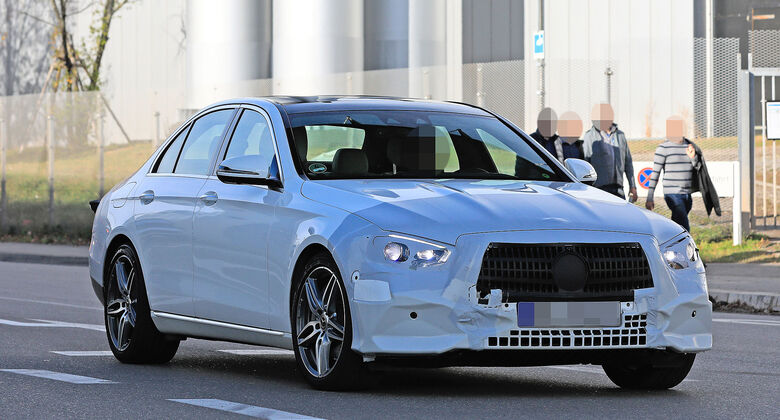 Mercedes E-Klasse Limousine Erlkönig