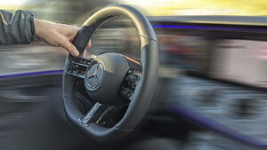 Mercedes E-Klasse MOPF Lenkrad