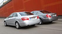 Mercedes E-Klasse, Mercedes S-Klasse