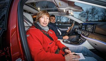Mercedes E-Klasse Mitfahrt