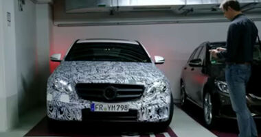 Mercedes E-Klasse Remote parking