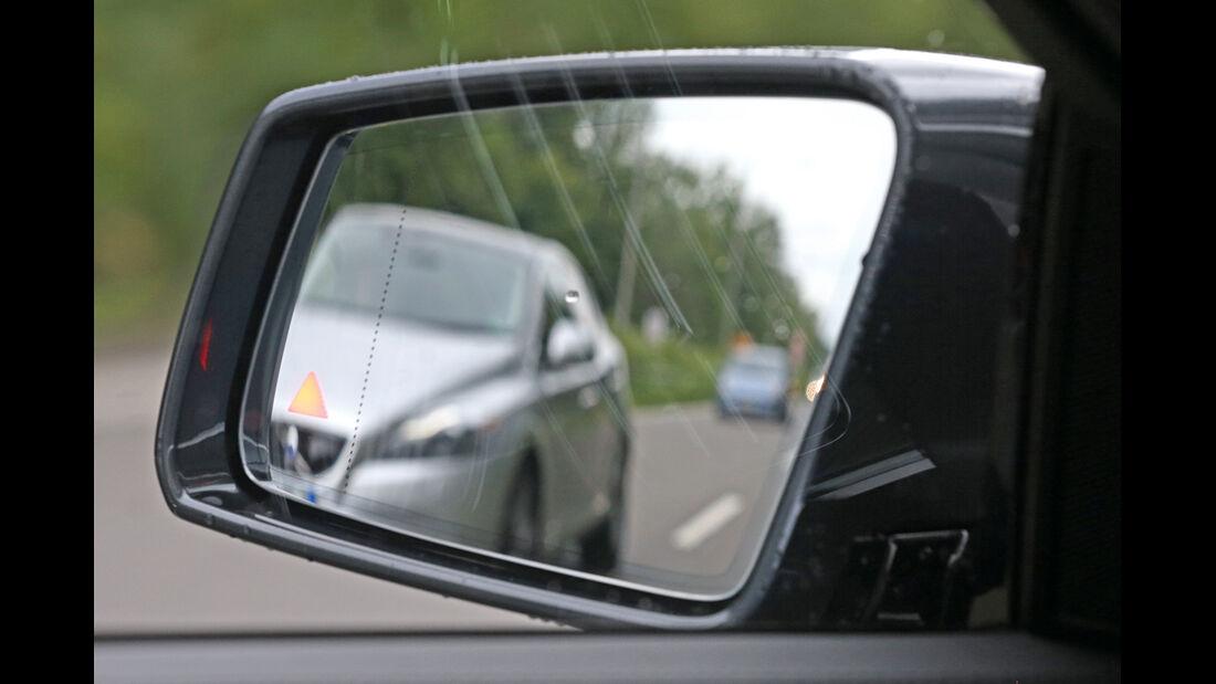 Mercedes E-Klasse, Seitenspiegel