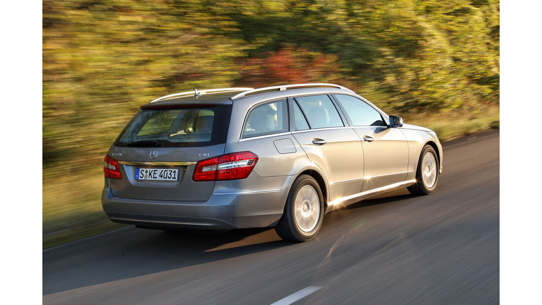 Mercedes E-Klasse T, Exterieur