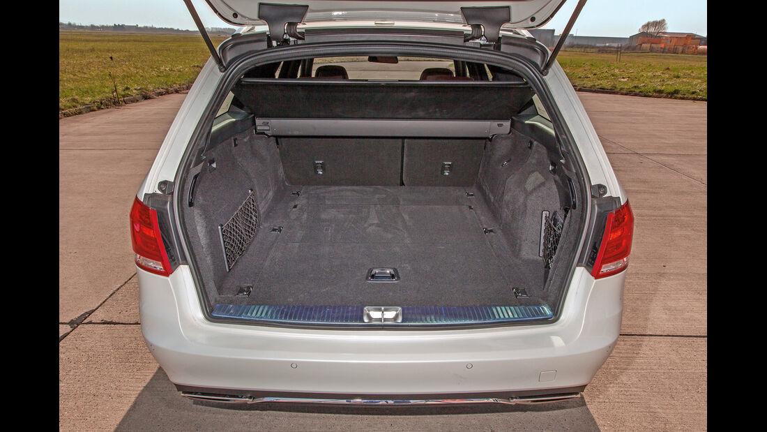 Mercedes E-Klasse T, Kofferraum