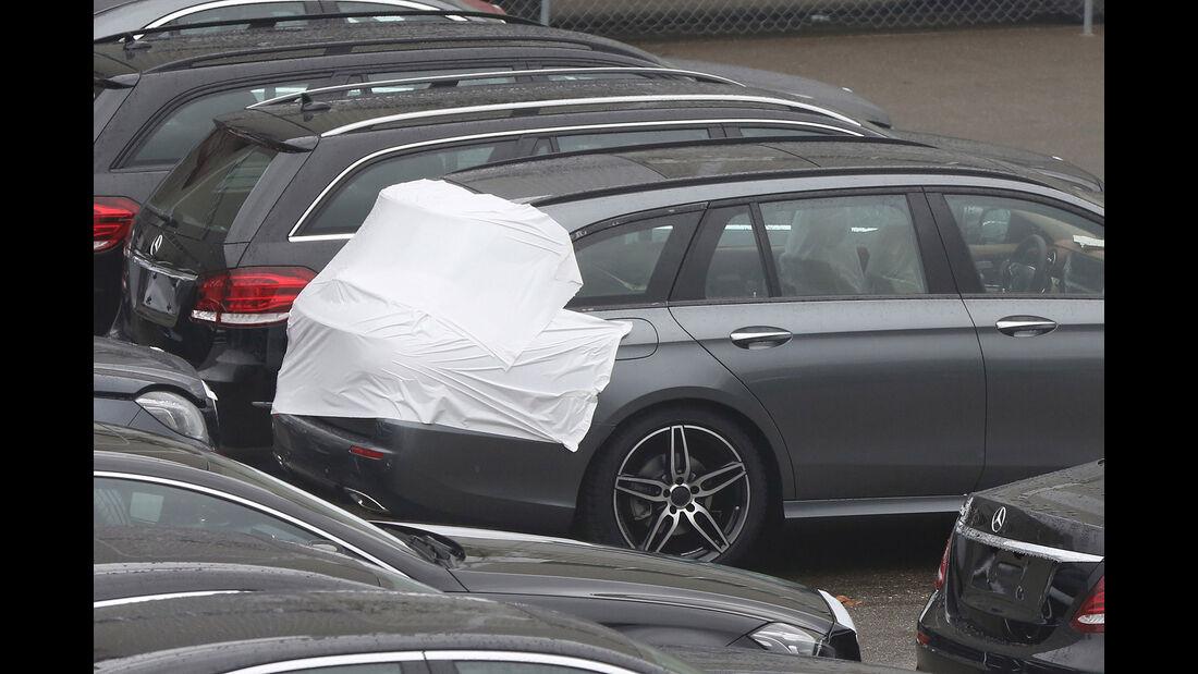 Mercedes E-Klasse T-Modell Erlkönig