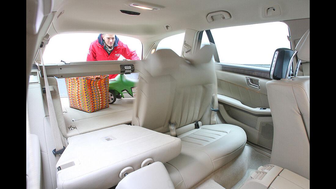 Mercedes E-Klasse T-Modell, Innenraum, Kofferraum