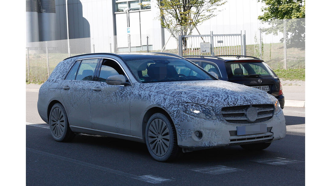 Mercedes E-Klasse T-Modell Kombi Erlkönig