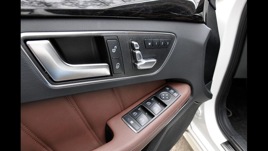 Mercedes E-Klasse, Türverkleidung, Sitzverstellung