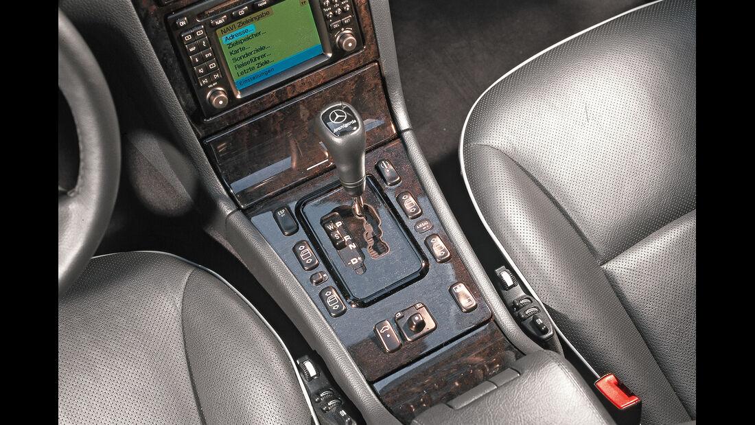 Mercedes E-Klasse (W210), Schalthebel