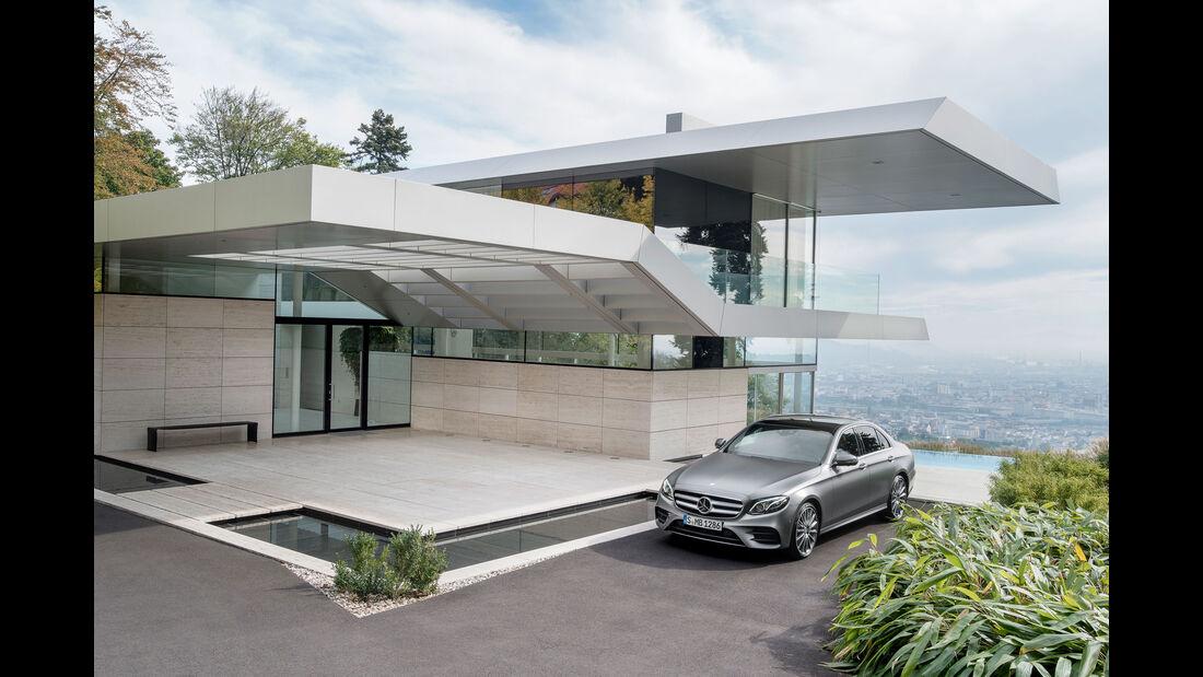 Mercedes E-Klasse (W213) - E 400 4 Matic - Benziner - Vorstellung