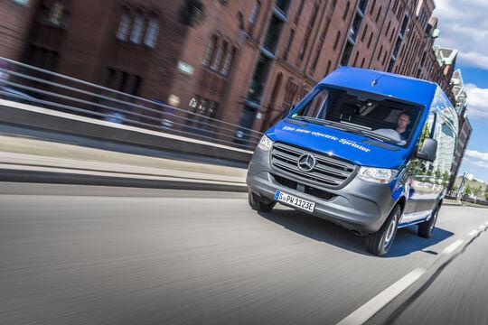 Mercedes E-Sprinter Elektro-Transporter