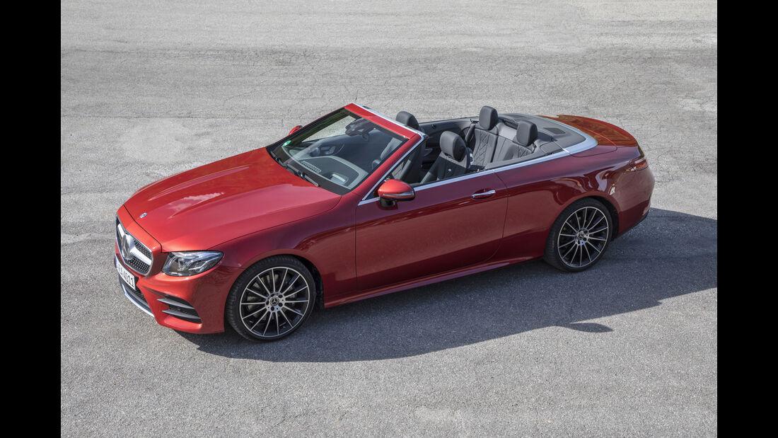 Mercedes E300 Cabriolet, Außenansicht