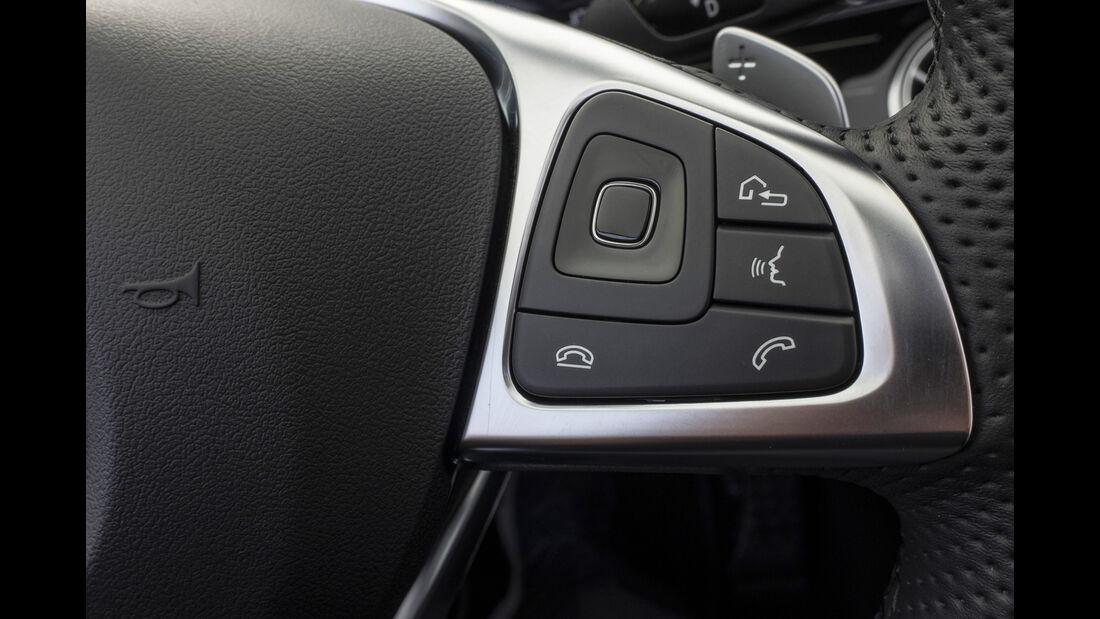 Mercedes E300 Cabriolet, Interieur