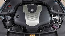 Mercedes-E350d-T Modell-Diesel-Fahrbericht-Kombi-Motorraum