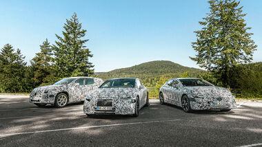 Mercedes EQ-Modelle bis 2021