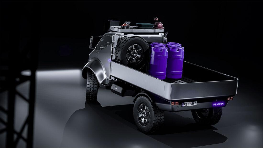 Mercedes EQ Unimog